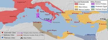 bureau de change antony map the second triumvirate 42 35 bc shows division of land