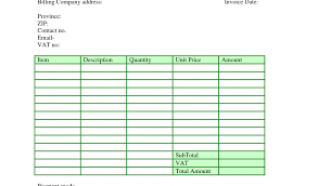 contractor billing template and contractor invoice template uk