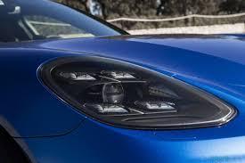 porsche panamera dark blue porsche panamera turbo s e hybrid sport turismo review family rocket