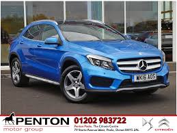 mercedes of poole used mercedes gla class cars for sale in poole dorset
