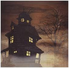 amazon com ohio wholesale radiance lighted haunted house canvas