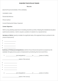 free resume templates for teachers to download resume template sle teacher resume templates resume sles