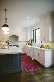 the best colorful kitchen rugs and runners kitchens gray island