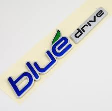 hyundai sonata logo amazon com hyundai sonata yf hybrid blue drive emblem automotive
