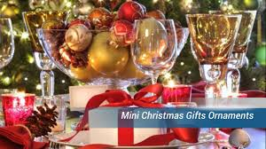 mini christmas gifts ornaments youtube
