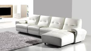 canape cuir 4 places canape blanc cuir design sofa cuir mobiliermoss yeary xl