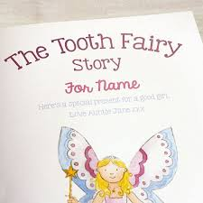 tooth fairy gift the tooth fairy story personalised children s book temptation gifts