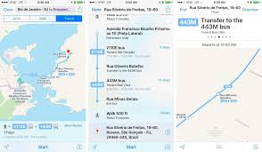 Rio De Janeiro Map Rio De Janeiro Gets Apple Maps Transit Directions In Time For 2016