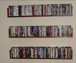 is my 400 dvd collection taking up much room in my 1400 sq ft