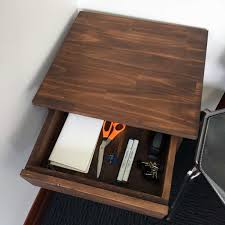 makerspace u0026 co woodwork projects side table with drawer