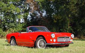 red maserati spyder old and classic maserati car pictures maserati history and pictures