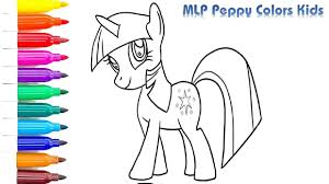 coloring pages twilight sparkle mlp how to draw twilight sparkle