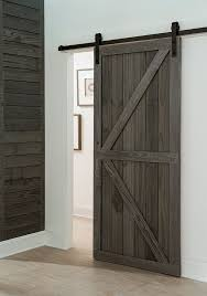 How To Make A Sliding Interior Barn Door Get A Farmhouse Look With A Barn Style Sliding Door In Your
