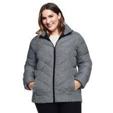 Plus Size Down Coats Landsend Lands End Women Plus Size Primaloft Packable Jacket