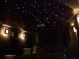 chambre ciel étoilé ciel toil plafond clairage led fibre optique etoiles