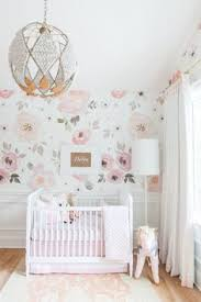 this baby u0027s nursery comes complete with unicorn wallpaper