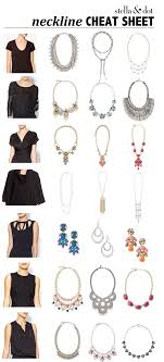 jewelry fashion necklace images A little help for choosing the right necklace for your neckline png
