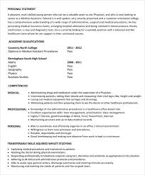 physician assistant resume template gallery of physician assistant resume template