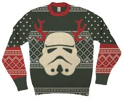sweater wars amazon com wars stormtrooper with reindeer antlers