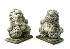 images of foo dogs stunning pair of large solid cast foo dogs garden statue ornaments