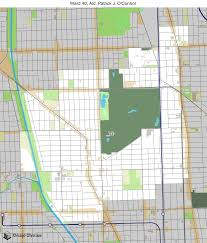 Chicago Ward Map Map Of Building Projects Properties And Businesses In The 40th