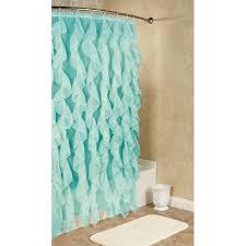 Ombre Ruffle Shower Curtain Bathroom Pebble Shower Curtain Crate And Barrel Shower Curtain