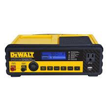 dewalt 30 amp multi bank battery charger with 80 amp engine start