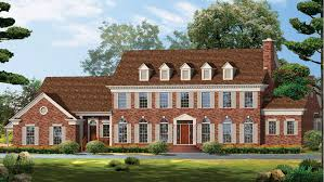 colonial home design georgian home plans georgian style home designs from homeplans