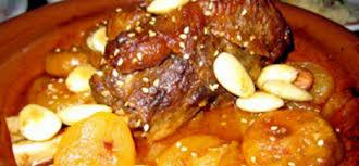 cuisine marocaine tajine agneau tajine d agneau abricots secs et amandes aid ad7a aid lakbir