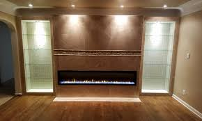 Electric Fireplace Insert Installation by Custom Project Dimplex Electric Fireplace Jackson Michigan