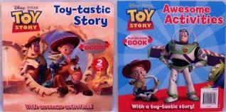 disney pixar toy story flip book 2 1 story book
