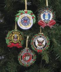 embroidered military ornaments each decor and accents all