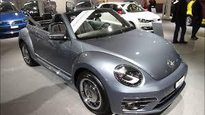 2017 volkswagen beetle cabrio denim exterior and interior