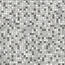 black white grey mosaic tile vinyl flooring slip resistant