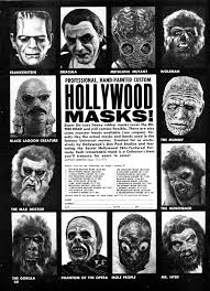 Vintage Halloween Ads Halloween Mask M Ad Ness Branded In The 80s