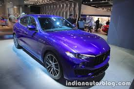 maserati 2018 2018 maserati levante showcased at iaa 2017 live