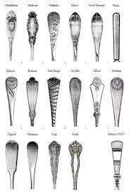 185 best spoon and fork patterns and items images on pinterest
