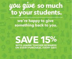 shop for teacher rewards program supplies joann