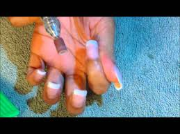 83 nail time fill in acrylic nails youtube