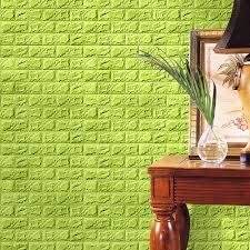 aliexpress com buy hot sale wall sticker pe foam 3d wallpaper 1pc pe foam 3d wallpaper diy wall stickers wall decor embossed brick stone