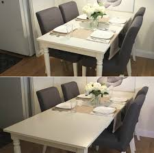 Ikea Dining Table And Chairs by Ingatorp Extendable Table White Leaves Spaces And Room