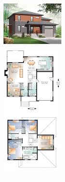 front to back split level house plans floor plan walkout side narrow get pictures building style large