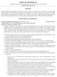 Food Service Resume Examples by Resume Objective Examples For Nutrition Resume Ixiplay Free
