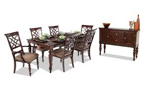 Cheap Dining Room Furniture Sets Woodmark 8 Dining Set Bob S Discount Furniture