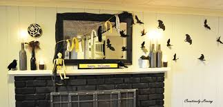halloween mantel for 5 creatively living blog