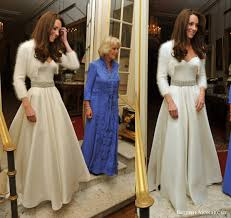 Designer Wedding Dresses 2011 Kate Middleton U0027s Second Wedding Dress What Kate Wore