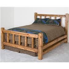 Log Queen Bed Frame Log Furniture King Barnwood Little Jack Bed Becker Furniture