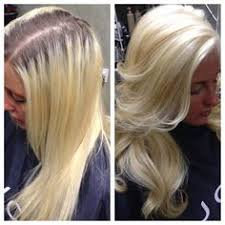what do lowlights do for blonde hair platinum blonde hair with subtle fall lowlights done with