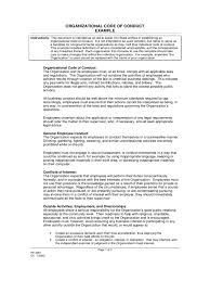 Business Requirements Document Template Pdf Code Of Conduct Example 5 Free Templates In Pdf Word Excel