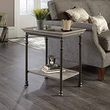 Oak Side Table Sauder Canal Northern Oak Side Table 419229 The Home Depot
